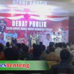 Debat Pilkada Benteng