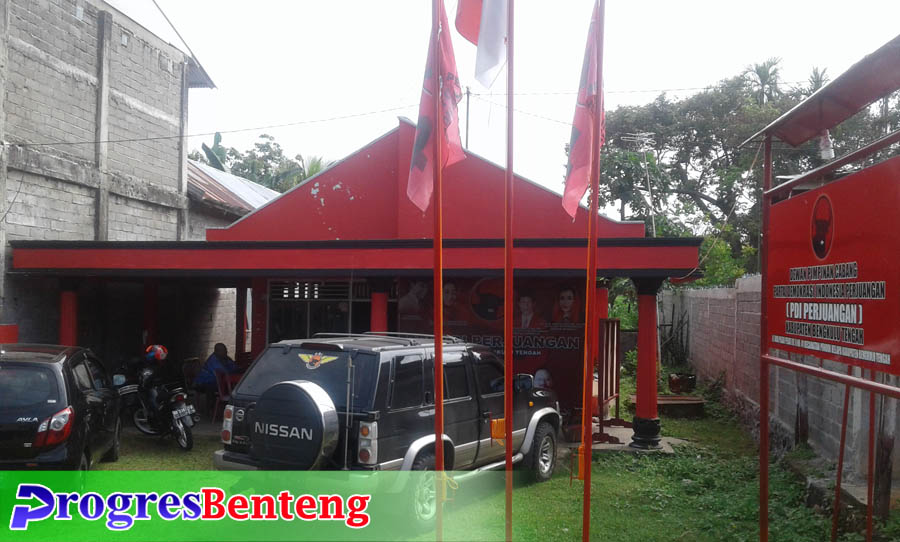 Sekretariat DPC PDIP Benteng