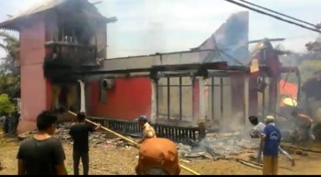 Kebakaran politisi gerindra
