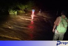 Kawasan Taba Lagan dilanda banjir