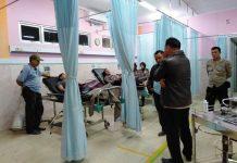 Anggota Polres BU terluka