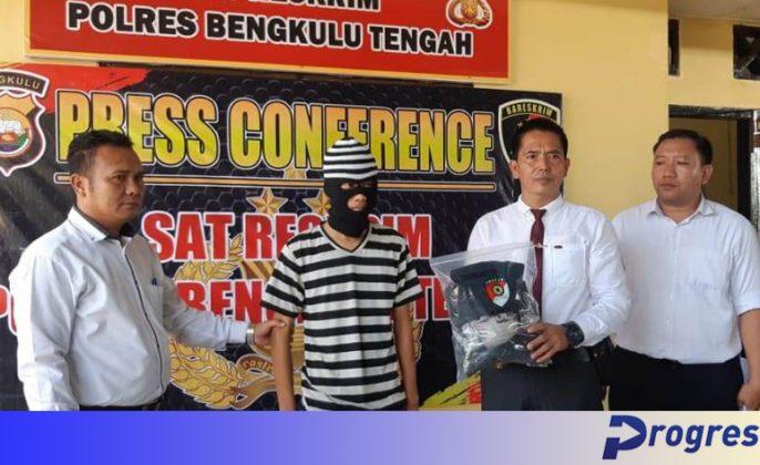 Konferensi pers Satreskrim Polres Benteng