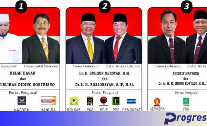 paslon gubernur bengkulu